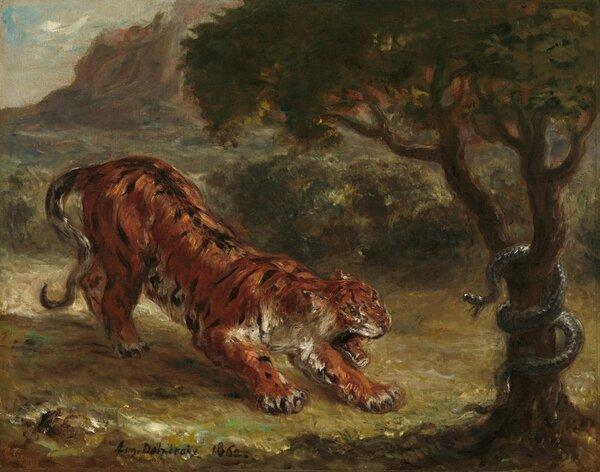 Le tigre et le serpent