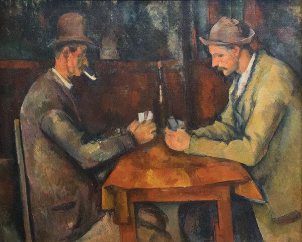 Les joueurs de cartes
