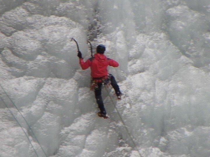 Aussois - Cascade de glace