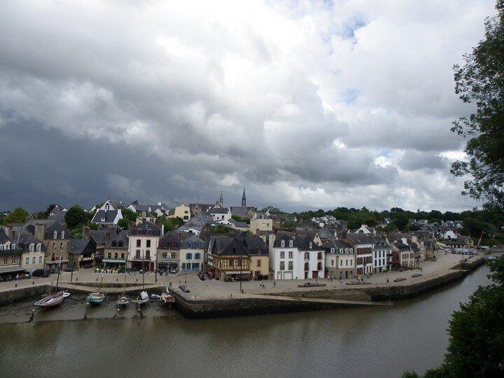 Auray (56) - Le port de Saint Goustan