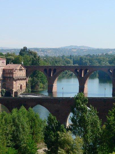 Albi (81) - Les ponts sur le Tarn