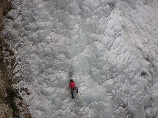 Aussois (73) Cascade de glace